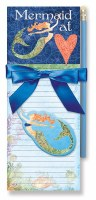 Two Pack Mermaid at Heart Magnetic Note Pad