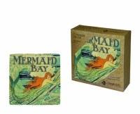 Set of Four Mermaid Bay Ceramic Coasters