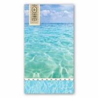 "8"" Beach Guest Towels"