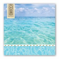 "7"" Square Beach Luncheon Napkins"