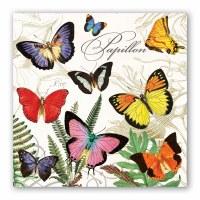 "7"" Square Papillon Luncheon Napkins"