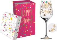 12 oz Happy Birthday Wine Glass