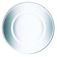 """8"""" Round Glass Directoire Dessert Plate"""