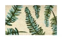 """18"""" x 30"""" Palm Fronds Coir Doormat"""
