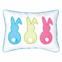 "12"" x 16"" Three Cottontail Bunny Pillow"
