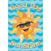 "18"" x 13"" Mini Good Day Sunshine Flag"