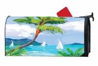 "20"" x 18"" Tropical Palm Tree Mailbox Cover"