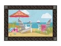 """18"""" x 30"""" Better at the Beach Doormat"""