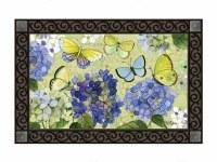 """18"""" x 30"""" Hydrangea Beauties Doormat"""
