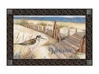 "18"" x 30"" Welcome Down to the Beach Doormat"