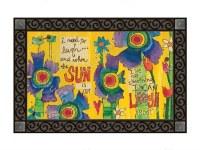 "18"" x 30"" Good Day Sunshine Doormat"