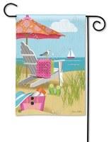 "18"" x 12"" Mini Better at the Beach Flag"