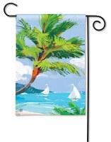 "18"" x 12"" Mini Tropical Palm Tree Flag"