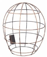 """15"""" Metal LED Oval Cage With Timer"""