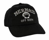 Mermaid Off Duty Black Cap