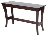 """52"""" Brown Wood Console Table"""