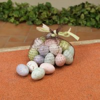 "Bag of 24 1.3"" Multicolored Eggs"