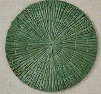 "15"" Round Sage Seagrass Placemat"