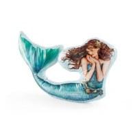 "21"" Mermaid Shaped Pillow"