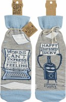 Words Can't Express Bottle Sock Cover