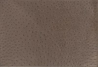 """13"""" x 17"""" Taupe Faux Leather Placemat"""