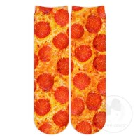 Pepperoni Pizza Crew Socks