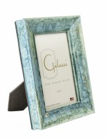 """4"""" x 6"""" Teal and Gold Bella Picture Frame"""