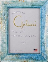 """5"""" x 7"""" Teal and Gold Bella Picture Frame"""