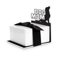 """3"""" Dog Mom Note Stand"""