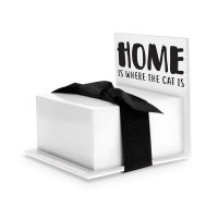"""3"""" Home Is Where The Cat Is Note Stand"""