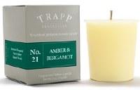 2 oz. Amber and Bergamot Votive Candle