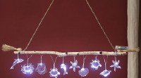 "3"" LED Clear Acrylic Sea Creature Light String"
