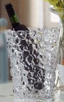 """9"""" Clear Acrylic Ice Cube Bucket"""
