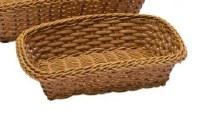 "10"" Brown Rectangle Basket"