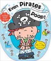 Even Pirates Poop Book