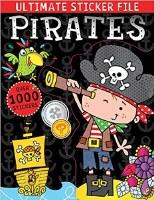 Ultimate Sticker File Pirates Book