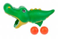 "9"" Gator Bouce Ball Gun Toy"