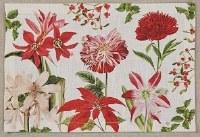 "13"" x 19"" Holiday Botanicals Cotton Placemat"