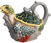 "10"" Sea Turtle Tea Pot"