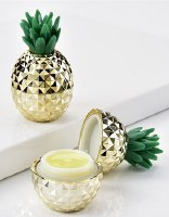 "3"" Gold and Green Pineapple Flavored Lip Gloss"
