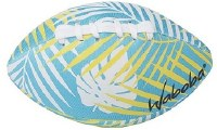 "6"" Blue Tropical Waboba Water Football"