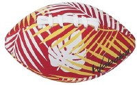 """6"""" Red Tropical Waboba Water Football"""