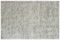 8' x 5' Light Gray Lucent Collection Rug