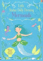 Little Sticker Dolly Dressing Mermaids Book
