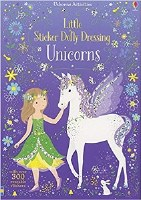 Little Sticker Dolly Dressing Unicorns Book