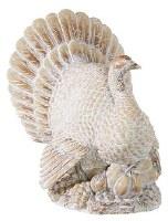 """12"""" Whitewash Polyresin Turkey"""