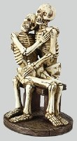 "7"" Seated Skeleton Couple"