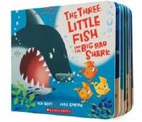 Three Little Fish and Big Bad Shark Children's Book