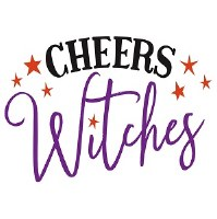 "5"" Cheers Witches Paper Beverage Napkins"