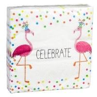"5"" Square Fabulous Birthday Paper Beverage Napkins"